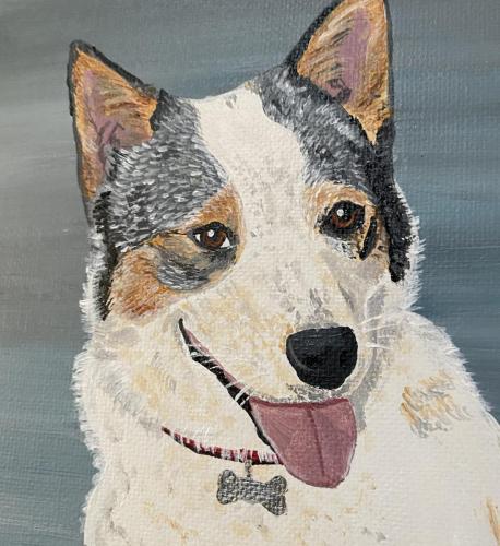 Georgia Dog Pet Portrait