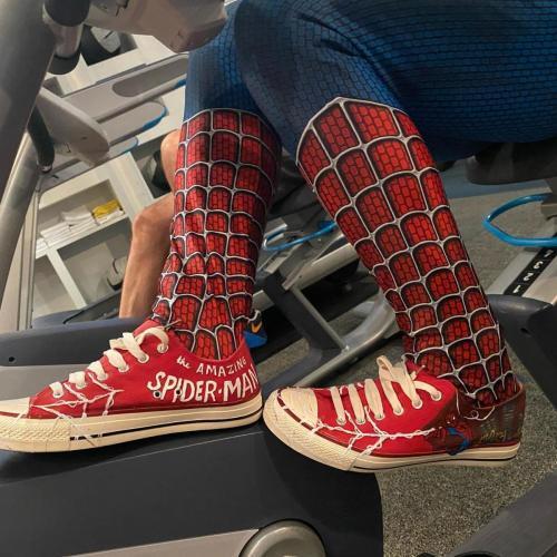 spider-man shoes side shot
